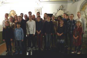 Schülerinnen und Schüler der JMS